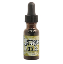 Tim Holtz Distress Ink Re-Inker 14ml - Crushed Olive