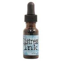 Tim Holtz Distress Ink Re-Inker 14ml - Stormy Sky