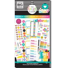 Me & My Big Ideas Happy Planner Sticker Value Pack - Color Me Happy