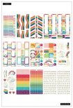Me & My Big Ideas Happy Planner Sticker Value Pack - Rainbow Dreams