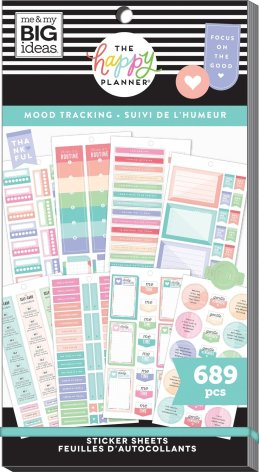 Me & My Big Ideas Happy Planner Sticker Value Pack - Mood Tracking
