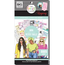 Me & My Big Ideas Happy Planner Sticker Value Pack - Rongrong Everyday MINI