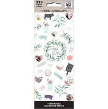 Me & My Big Ideas Stickers 339/Pkg - Farmhouse