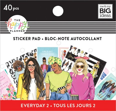 Me & My Big Ideas Happy Planner Tiny Sticker Pad - Rongrong Everyday 2