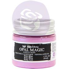 Prima Finnabair Art Alchemy Acrylic Paint 50ml - Opal Magic Pink-Blue
