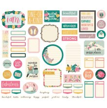 Simple Stories Bits & Pieces Die-Cuts 57/Pkg - I Am Journal