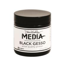 Dina Wakley Media Gesso 118ml Jar - Black