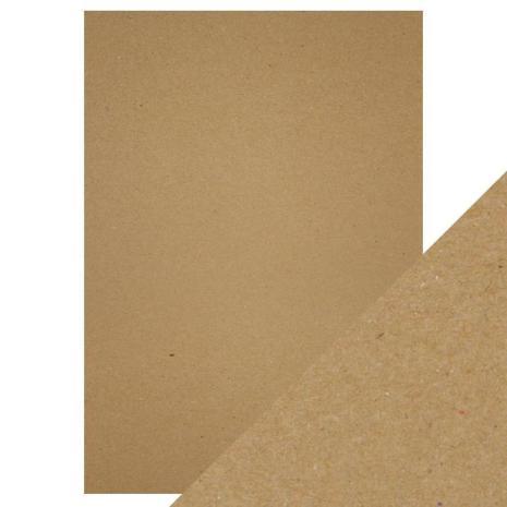 Tonic Studios Craft Perfect A4 - Brown Craft Card 9558E