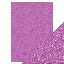 Tonic Studios Craft Perfect A4 Glitter Card - Berry Fizz 9952E