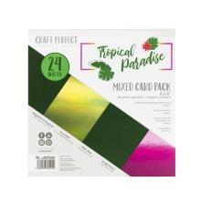 Tonic Studios Craft Perfect 6X6 Card Pack - Tropical Paradise 9402E
