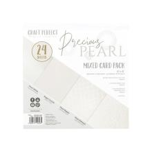 Tonic Studios Craft Perfect 6x6 Card Packs - Precious Pearl 9396E