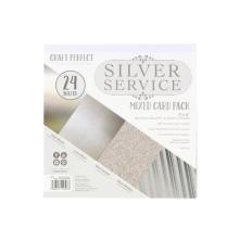 Tonic Studios Craft Perfect 6x6 Card Packs - Silver Service 9397E