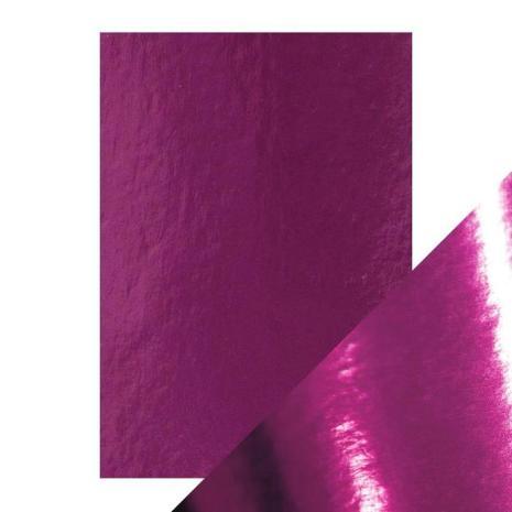 Tonic Studios Craft Perfect Mirror Card A4 - Midnight Plum 9445E