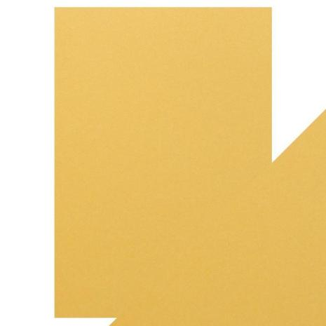 Tonic Studios Craft Perfect Pearlescent Card A4 - Lemon Lustre 9510E