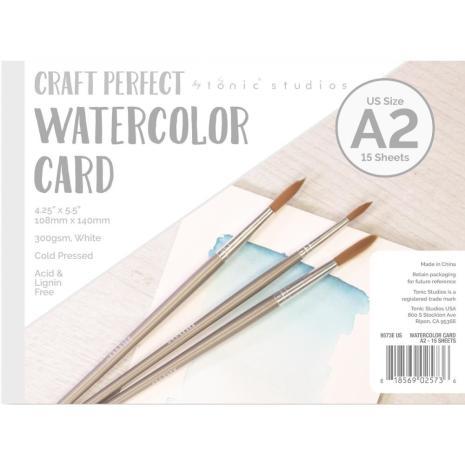 Tonic Studios Craft Perfect Watercolor Pad US A2 9573E
