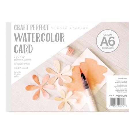 Tonic Studios Craft Perfect Watercolor Pad US A6 9574E