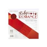 Tonic Studios Craft Perfect 6x6 Card Packs - Ruby Romance 9392E