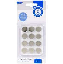 Tonic Studios Large Craft Magnets 15mm 6 Pairs/Pkg 3062E