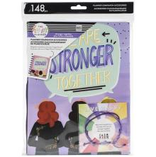 Me & My Big Ideas CLASSIC Planner Companion Accessories - Stronger Together