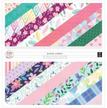 Paige Evans Single-Sided Paper Pad 12X12 48/Pkg - Bloom Street