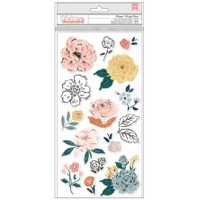 Crate Paper Fresh Bouquet Thickers Stickers 5.5X11 29/Pkg - Bouquet Accent