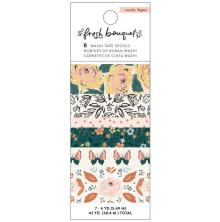 Crate Paper Washi Tape 8/Pkg - Fresh Bouquet