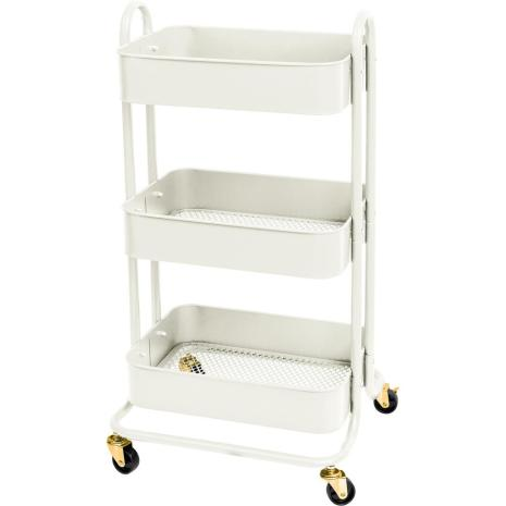 We R Memory Keepers A La Cart With Handles - Off White