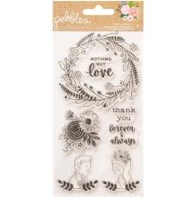 Pebbles Clear Stamps - Lovely Moments