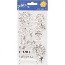 Pebbles Clear Stamps - Sun & Fun