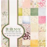 BoBunny Single-Sided Paper Pad 12X12 48/Pkg - Garden Grove
