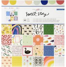Maggie Holmes Paper Pad 12X12 48/Pkg - Sweet Story