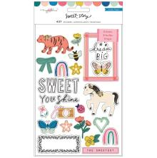 Maggie Holmes Sticker Book 437/Pkg - Sweet Story