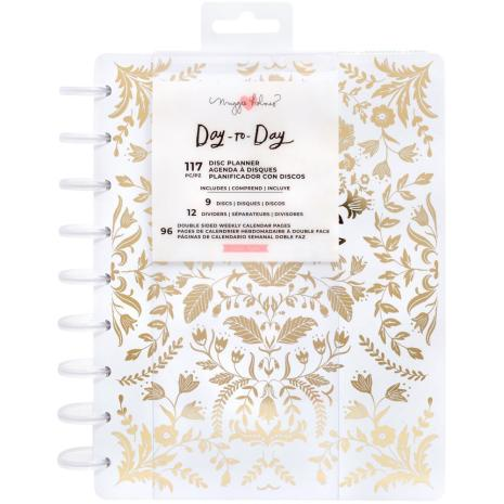 Maggie Holmes Day-To-Day Undated 12 Month Planner 7.5X9.5 - Golden