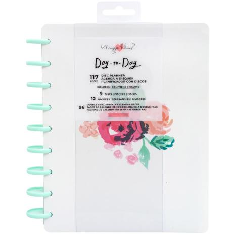 Maggie Holmes Day-To-Day Undated 12 Month Planner 7.5X9.5 - Blossom