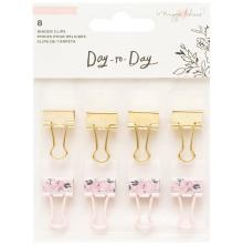 Maggie Holmes Planner Binder Clips 8/Pkg - Day-To-Day