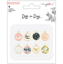 Maggie Holmes Planner Charms 8/Pkg - Day-To-Day
