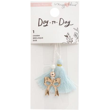 Maggie Holmes Planner Charm Bookmark - Day-To-Day Bow