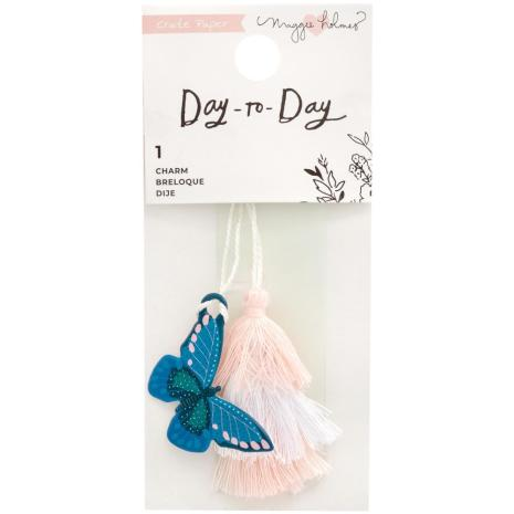 Maggie Holmes Planner Charm Bookmark - Day-To-Day Butterfly