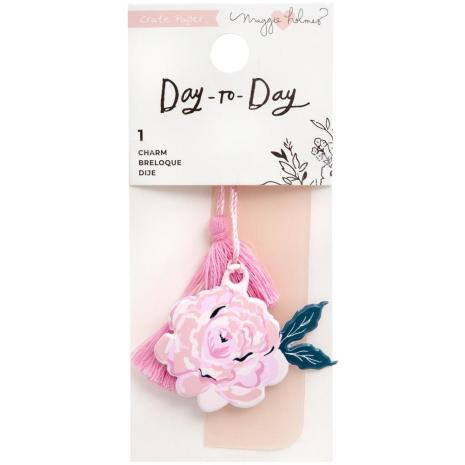 Maggie Holmes Planner Charm Bookmark - Day-To-Day Floral