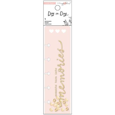 Maggie Holmes Planner Charm Bookmark - Day-To-Day Gold Foil
