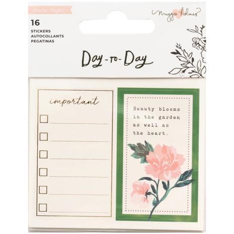 Maggie Holmes Planner Mini Sticker Book - Day-To-Day Blocks