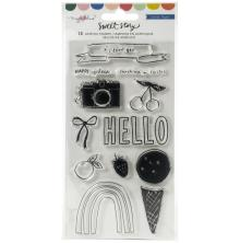 Maggie Holmes Acrylic Clear Stamps 13/Pkg - Sweet Story