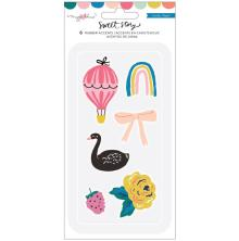 Maggie Holmes Rubber Stickers 8/Pkg - Sweet Story Stickers