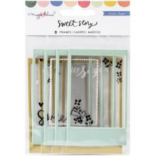 Maggie Holmes Puffy Frames 8/Pkg - Sweet Story Frames