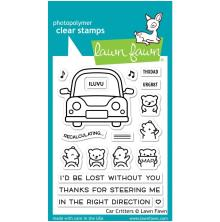 Lawn Fawn Clear Stamps 3X4 - Car Critters