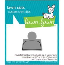 Lawn Cuts Custom Craft Die - Reveal Wheel: Car Critters Add-On