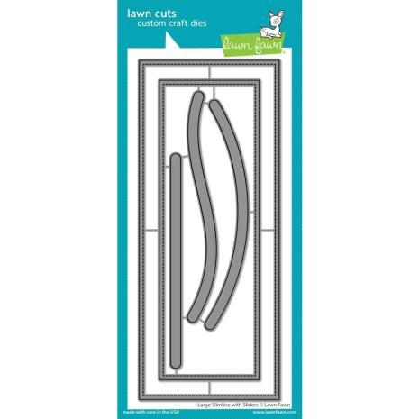 Lawn Cuts Custom Craft Die - Large Slimline W/Sliders