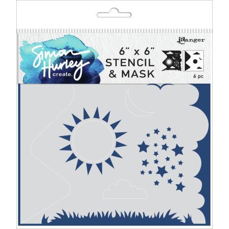 Simon Hurley create. Stencils 6X6 - Scene Maker