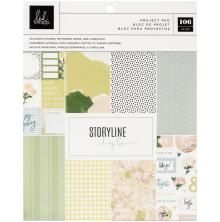Heidi Swapp Storyline Chapters Project Pad 7.5X9.5 - The Planner