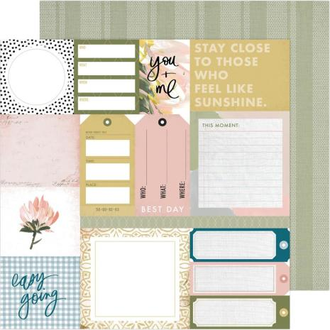Heidi Swapp Storyline Chapters Cardstock 12X12 - Everyday